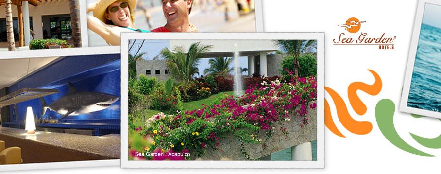 Sea Garden In Acapulco Exotic U0026 Luxury Resorts   Acapulco Activities |  Grupo Mayan Hotels U0026 Resorts